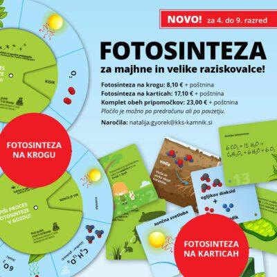 FOTOSINTEZA NA KARTICAH